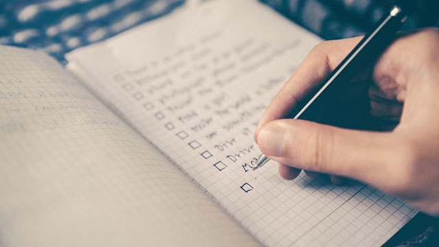 Ways of Writing a Conclusion Like a Checklist